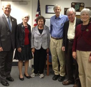 ACKC meets with Congresswoman Nita Lowey in her local office.