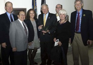 Rep. Steve Israel (D-NY) Receiving Award from ACKC 619px