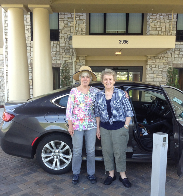 Pat and Brenda with Car 610px