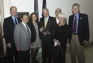 Rep. Steve Israel (D-NY) Receiving Award from ACKC